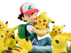 Pokemon G.E.M. Series Ash & Pikachu (Lots of Pikachu Ver.)
