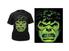 Marvel Incredible Hulk Angry Face T-Shirt