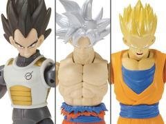 Dragon Ball Super Dragon Stars Wave I Set of 3 Figures with Broly Components