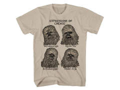 Star Wars Wookie Faces T-Shirt