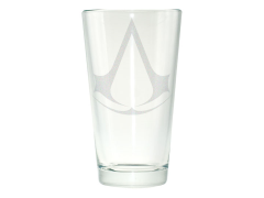 Assassin's Creed Logo Etched Pint Glass