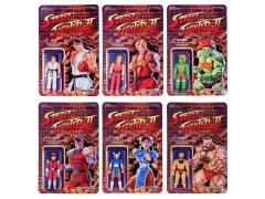 "Street Fighter II 3.75"" Retro Action Figure - Set of 6"