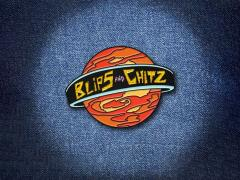 Rick and Morty Blips and Chitz Enamel Pin