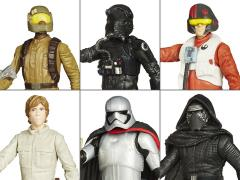 "Star Wars 3.75"" Jungle and Space Figure Wave 1 Set of 6"
