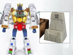 Transformers Masterpiece MP-08X King Grimlock (2nd Production Run With Throne)