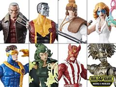 X-Men Marvel Legends Wave 2 Set of 7 (Warlock BAF)