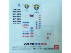 Gundam 1/100 & 1/144 Celestial Being GN Drive Set of 10 Decal Sheets