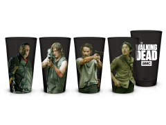 The Walking Dead Pint Glasses Set of 4