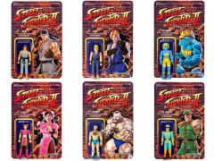 "Street Fighter II Retro 3.75"" Action Figures (Champion Edition) Set of 6"