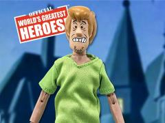 "Scooby-Doo World's Greatest Heroes Shaggy (Scared Variant) 8"" Retro Figure"