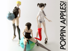 1/6 Scale The World of Isobelle Pascha Cosplay Figure Wave 02 - Set of 3