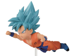 Dragon Ball World Collectable Figure Volume 06 - Super Saiyan God Super Saiyan Goku