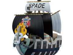 One Piece Grand Ship Collection Spade Pirates' Ship Model Kit