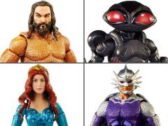 Aquaman DC Comics Multiverse Set of 4 Figures (Collect & Connect Trench Warrior)