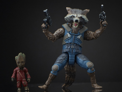Guardians of the Galaxy Vol. 2 Marvel Legends Rocket Raccoon & Groot (Mantis BAF)