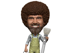 The Joy of Painting Bob Ross Head Knocker