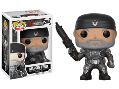 Pop! Games: Gears of War - Marcus Fenix (Old Man)