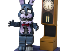 Five Nights at Freddy's Grandfather Clock Micro Construction Set