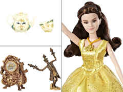 Disney Princess Beauty and the Beast Belle and Castle Friends Deluxe Figure Set