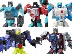 Transformers Titans Return Deluxe Wave 4 Set of 5 Figures