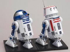 Star Wars R2-D2 & R5-D4 1/12 Model Kit