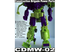 CDMW-02 Construction Brigade Power Parts Custom Hips/Waist