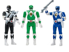 Mighty Morphin Power Rangers Legacy Head Morph Wave 2 Set of 3 Figures