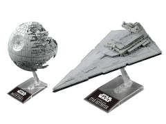 Star Wars Death Star II 1/2,700,000 Scale & Star Destroyer 1/14,500 Scale Model Kit Set