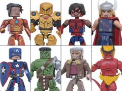 Marvel Minimates Wave 74 Two Pack Set of 4