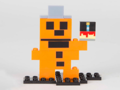 Five Nights At Freddy's 8-Bit Buildable Figure - Freddy #12041