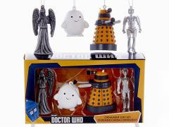 Doctor Who Miniature Ornaments Box of 4