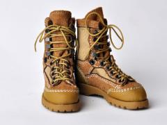 Military Tactical Boots (Desert Tan) 1/6 Scale Accessory