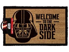 Star Wars Welcome to the Dark Side Darth Vader Door Mat