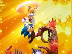 Sonic The Hedgehog Sonic & Tails Statue