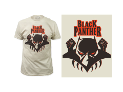 Marvel Black Panther Logo T-Shirt