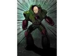 DC Forces of Good & Evil Lex Luthor Displate Metal Print