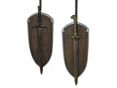 Game of Thrones Oathkeeper & Longclaw Ornaments