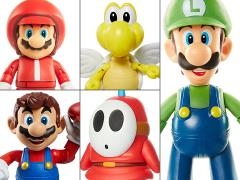 "World of Nintendo 4"" Figure Series 13 Set of 5"