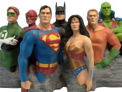 Justice League Fine Art Sculpture Alex Ross Original 7