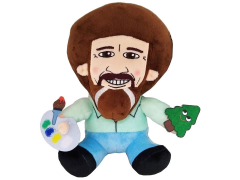 The Joy of Painting Phunny Bob Ross Plush