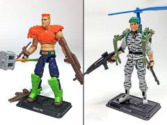 GI Joe The Final Twelve Lt. Falcon & Road Pig GI Joe Club 2018 Exclusive Set