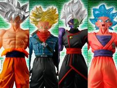 Dragon Ball Super HG Silver Edition Exclusive Box of 4 Figures