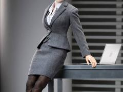 1/6 Scale Office Lady Business Suit - Grey