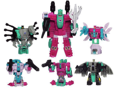 Transformers G1 Commemorative Seacons Decepticon Piranacon BBTS Exclusive