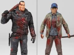 The Walking Dead Comic Negan & Glenn Two Pack Exclusive