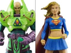 DC Universe Classics Kryptonite Chaos Supergirl and Lex Luthor Two Pack