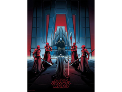 Star Wars Darkness Rises and Light to Meet It Art Print