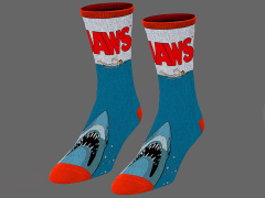 Jaws Custom Knit Crew Socks
