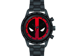 Marvel Deadpool Black Wrist Watch