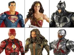 Justice League DC Comics Multiverse Wave 1 Set of 6 Figures (Collect & Connect Steppenwolf)